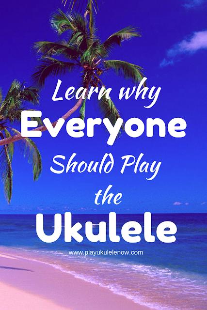 George Harrison explains why everyone should play the ukulele!