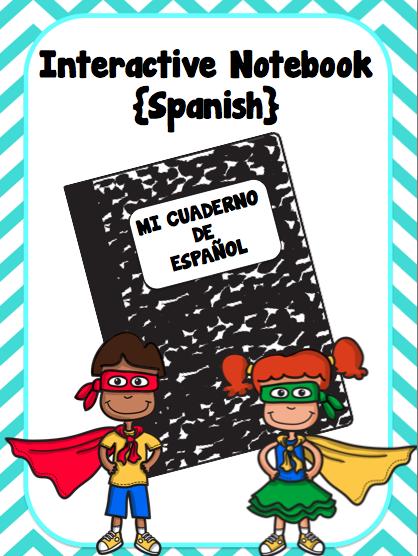 Interactive Notebook Archives - FunForSpanishTeachers