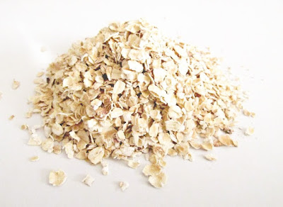 a pile of porridge oats