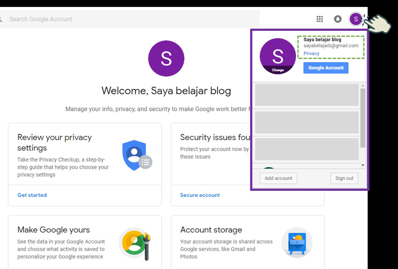 Cara Membuat Akun Gmail 5