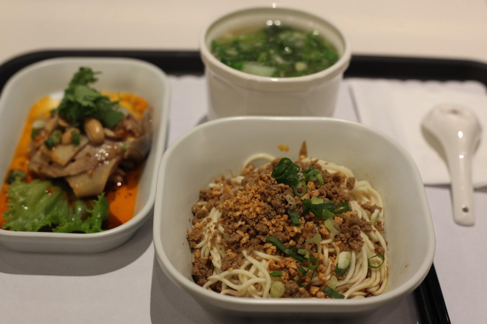 猛烈南瓜在飯桌: 臺北:在機場遇上舒淇@KiKi麵 noodle bar
