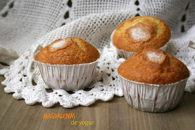 Magdalenas de yogur