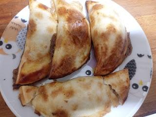 Empanadillas de Bacón y Roquefort