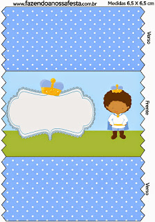 Afro Baby Prince: Free Printable Candy Bar Labels.