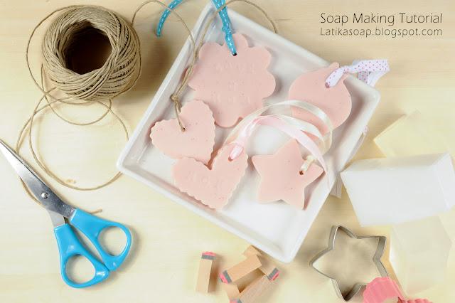 Cookie cutter soap DIY - Latika Body Essentials