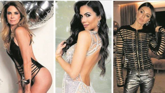 Daniela Albuquerque quer lugar de Luciana Gimenez, que ainda é ameaçada por atual de ex