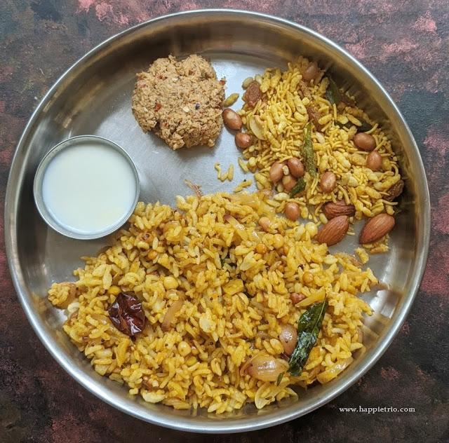 Garlic Rice Recipe | Poondhu Sadham | Easy Variety Rice Recipe