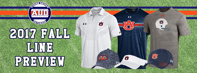 auburn clothing under armour shirt polo hat