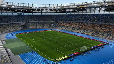 PES 2021 Stadium NSK Olimpisky (Shaktar Donestk, Dynamo Kyiv, Ukraine NT)
