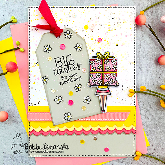 Big Wishes by Bobbi features Holding Happiness by Newton's Nook Designs; #newtonsnook