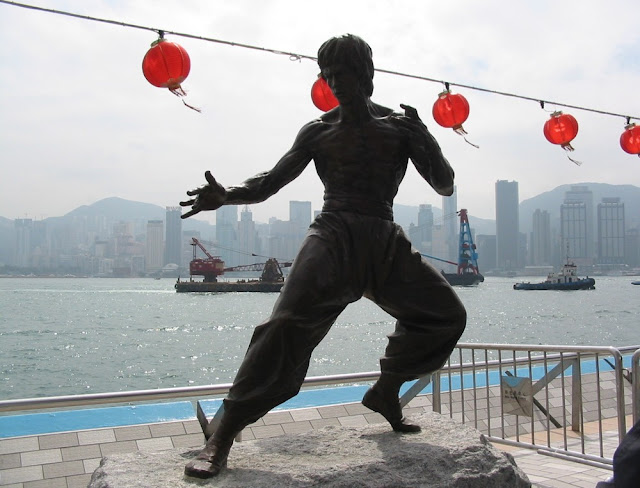 Bruce Lee Statue in Hongkong - Avenue of Stars