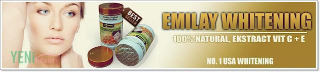 Emilay whitening suplemen vitamin perawatan kulit