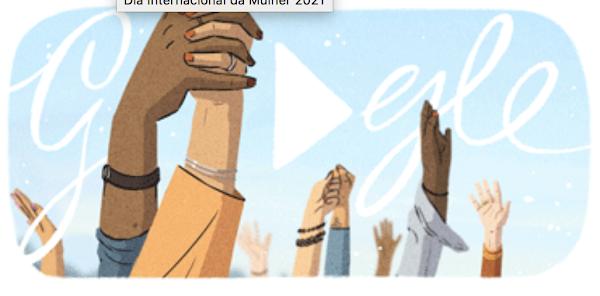 Google celebra Dia Internacional da Mulher com novo doodle