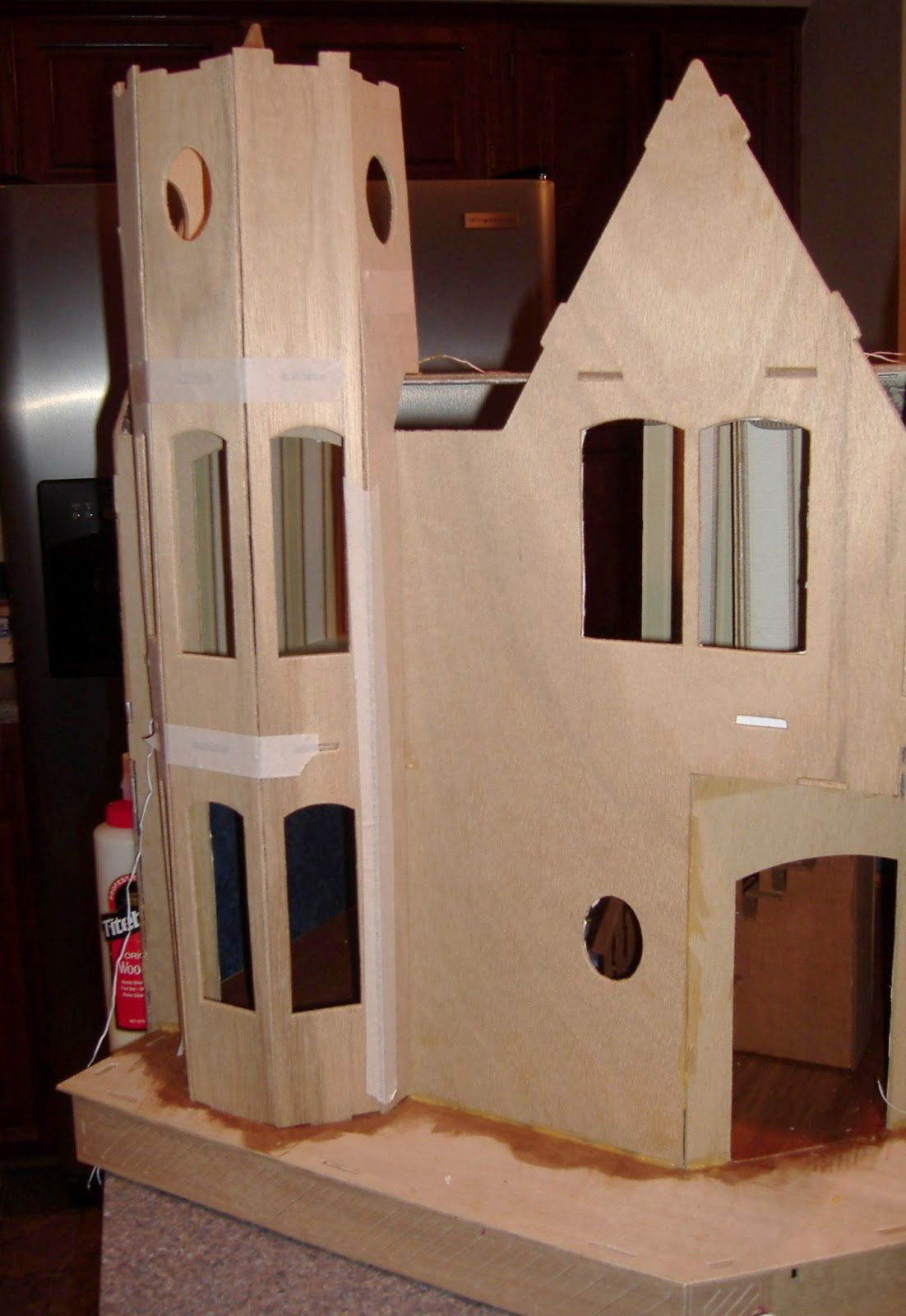 Custom Styled Dollhouse Kits Building The Greenleaf