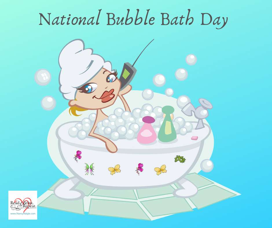 National Bubble Bath Day Wishes Unique Image