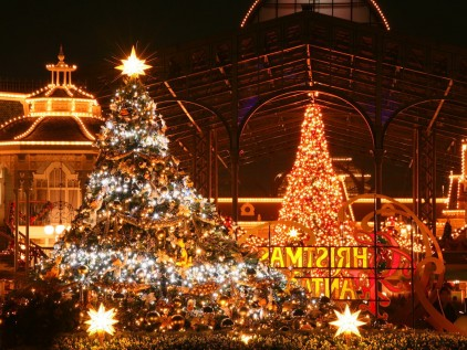 christmas night at disney world