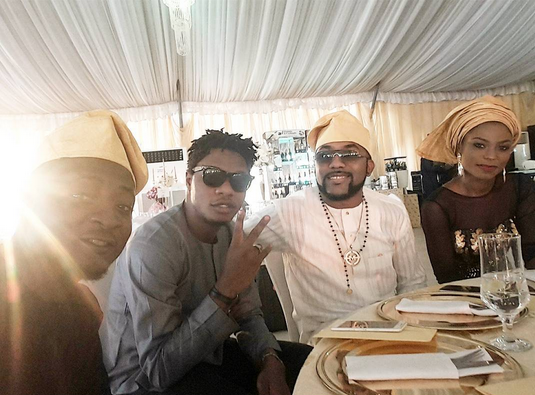 First photos from DJ Xclusive's ongoing traditional wedding