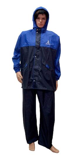 Aashi Men's Solid Rain Coat