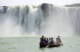 Chitrakut Falls boating