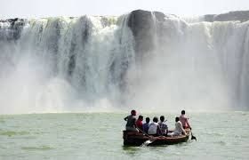 Chitrakut Falls boating