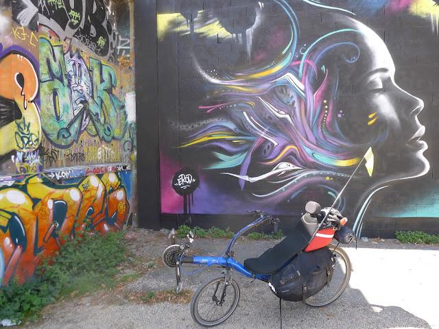 De Paris à la Rochelle en vélo couché, La Rochelle Street Art