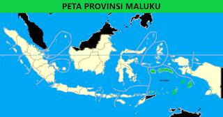 Peta Provinsi Maluku