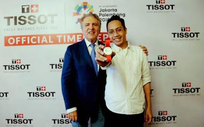 Tissot mengeluarkan empat jam tangan edisi khusus Asian Games 2018