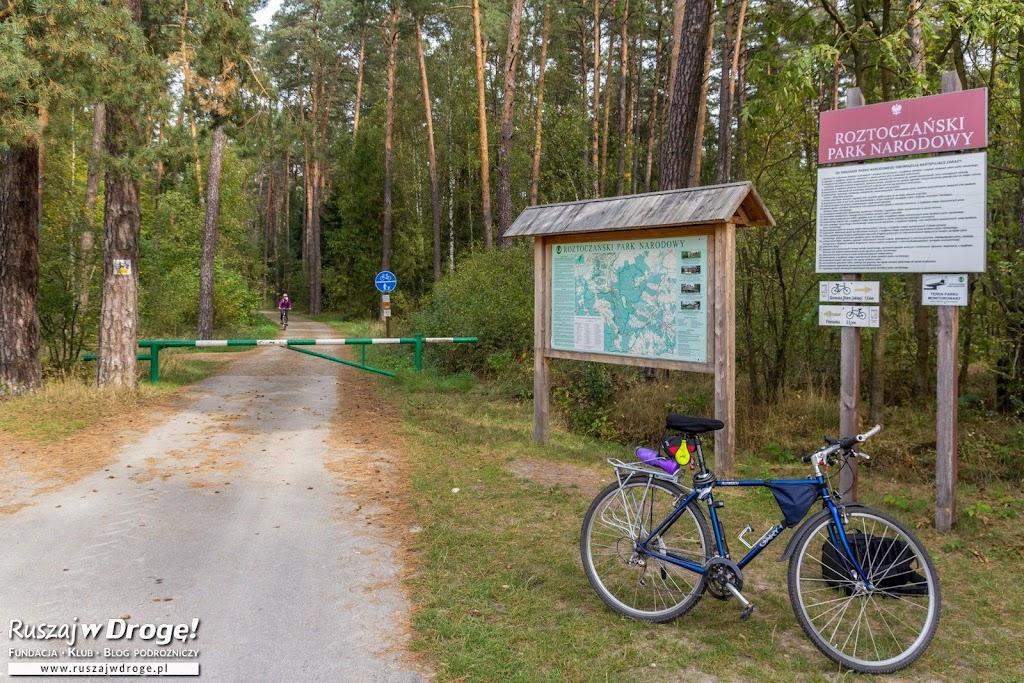 Roztoczański Park Narodowy na rowerze