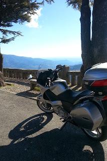 Puerto el pico en moto como ir