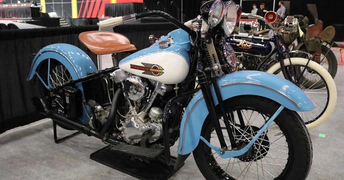 Harley Davidson Colorado Springs >> OldMotoDude: 1939 Harley-Davidson EL Knucklehead sold for ...