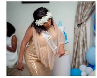 Toyin Abraham gives birth to a baby boy