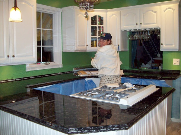 Live Gorgeously Painted Countertops Q Amp A