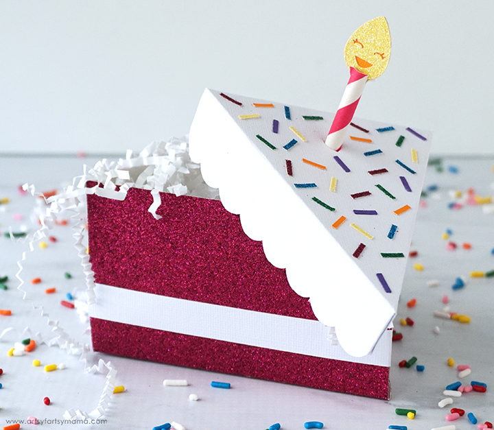 DIY Birthday Cake Box