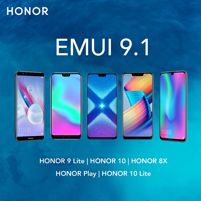 Honor Philippines Rolls Out EMUI 9 1 Update to these Phones
