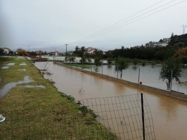 Καταστροφές και πλημμύρες στο Δήμο Ν. Σκουφά στην Άρτα – ΦΩΤΟ