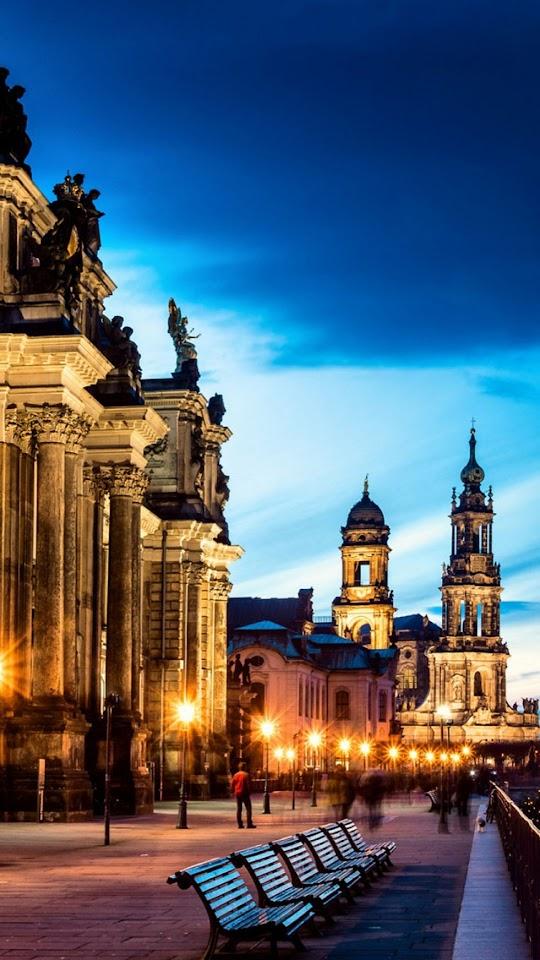 Altstadt Dresden Germany   Galaxy Note HD Wallpaper