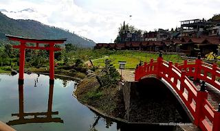 Tarif menginap di the onsen hot spring resort di kota wisata batu
