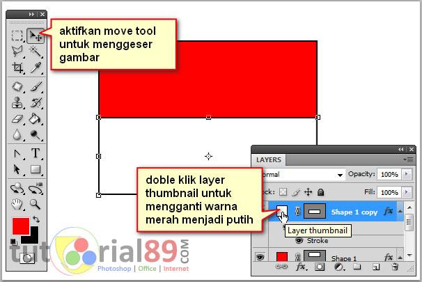 Cara Membuat Background Merah Putih dengan Photoshop