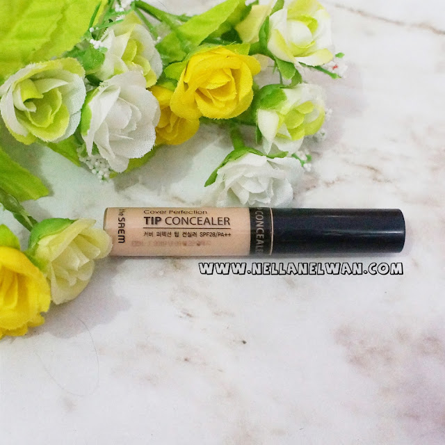 the saem cover perfection tip concealer review nellanelwan