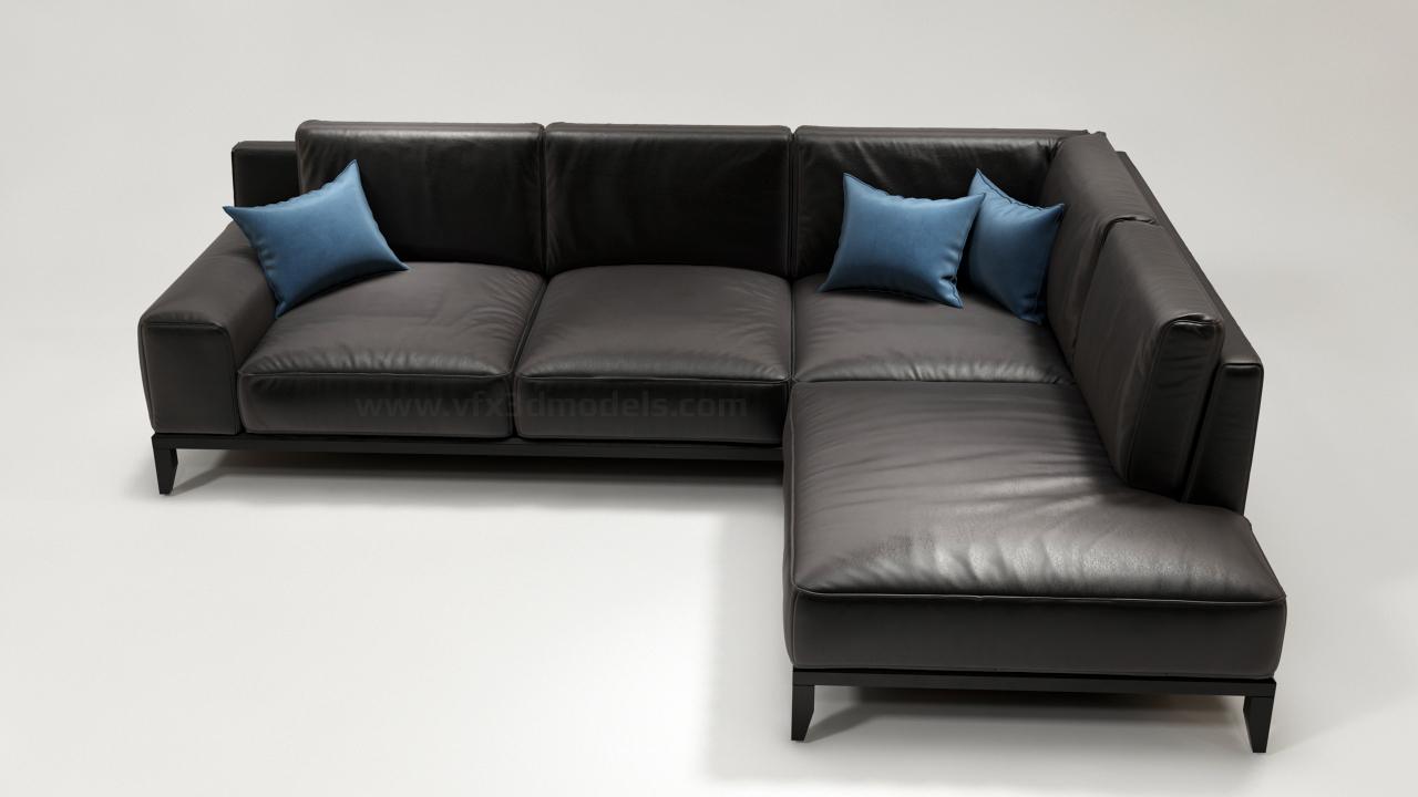 Download Modern Sofa 3d Model Vfx 3d Models