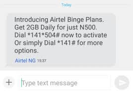 New Download Bundle – Get 2GBData For Just N500 ON AIRTEL