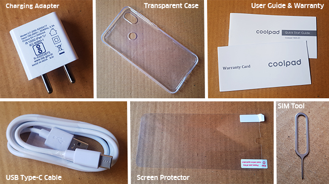 coolpad-cool-5-accessories-unboxing