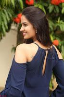 Poojita Super Cute Smile in Blue Top black Trousers at Darsakudu press meet ~ Celebrities Galleries 098.JPG