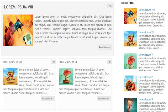 كيفية جعل التدوينات تظهر على شكل مجلة وبشكل أنيق
