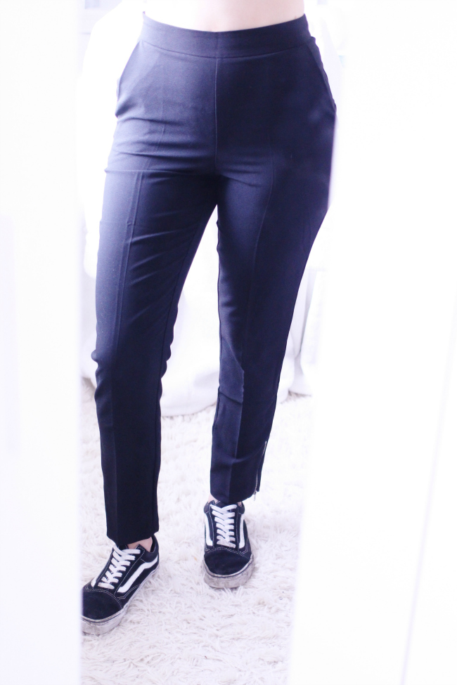 Missguided, Zip Ankle, Cigarette Trouser, Review, UK, Fashion, Blogger, Beauty
