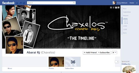facebook timeline creative profile 13