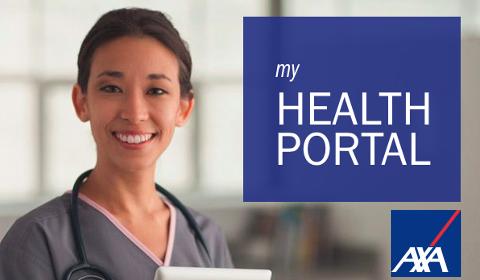 AXA My Health Portal