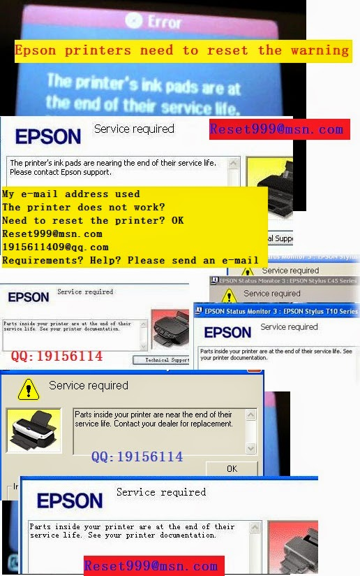 WIC Reset Utility - Reset Epson printers Waste ink Counters
