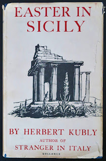 1956 Italy Guide, Easter in Sicily, Herbert Kubly.