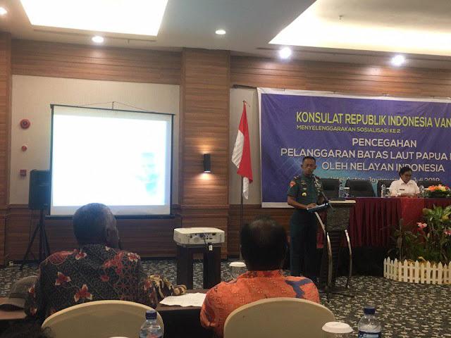 Pelanggaran Batas Laut, Danlantamal X Jayapura Himbau Nelayan Mematuhi Peraturan Zona Ekslusif Ekonomi